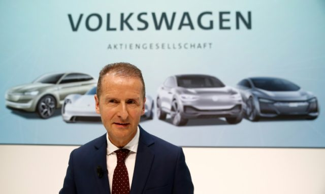 Volkswagen's newly-appointed CEO Herbert Diess aims to drive automaker out from the cloud of the 'dieselgate' scandal