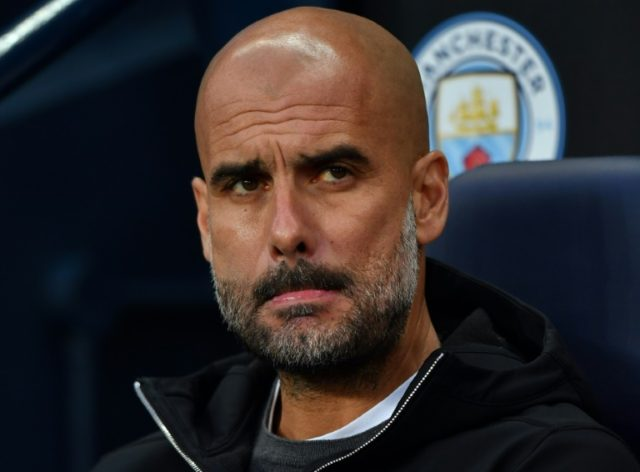 Worrying times: Manchester City manager Pep Guardiola fears title collapse