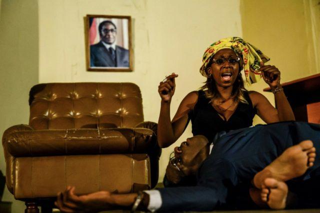 Robert and Grace: Carol Magenga and Khetani Banda lampoon Zimbabwe's once-mighty presidential couple in 'Operation Restore Regasi'