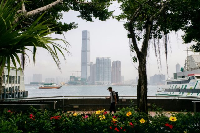 The Hong Kong dollar has been linked to the US unit since 1983