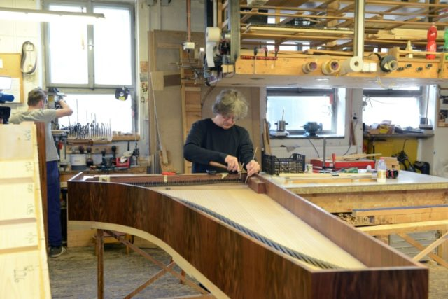 Musical time travel: recreating Mozart-era pianos in Czech wood
