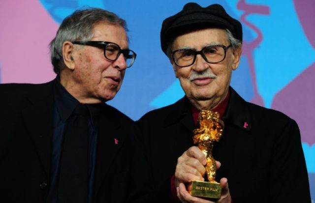 Italian director Vittorio Taviani, pictured right, enjoyed a successful partnership with his brother Paolo, left