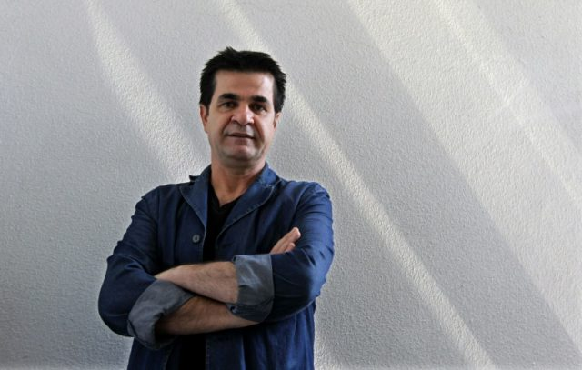 Celebrated Iranian film director Jafar Panahi poses during an interview with AFP in Tehran on August 30, 2010