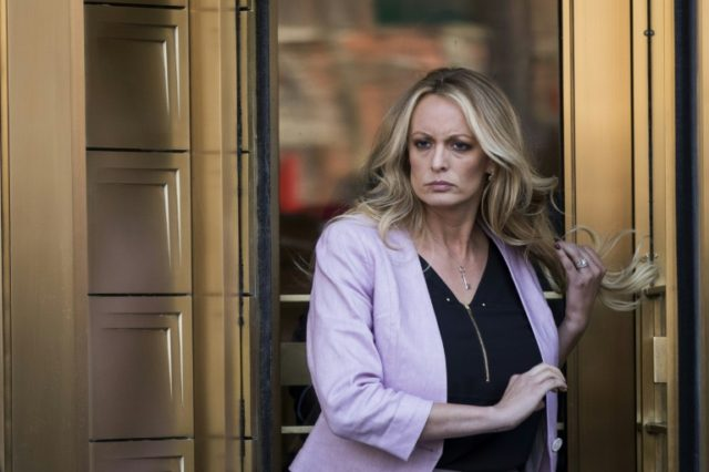 Adult film actress Stormy Daniels, real name Stephanie Clifford, is fighting to quash a hush agreement preventing her from talking about a liaison with President Donald Trump