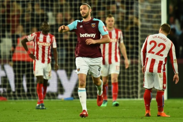 Andy Carroll's last-gasp equaliser earned West Ham a crucial draw against Stoke