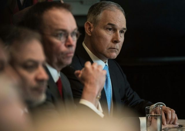 The US Environmental Protection Agency's construction of a soundroof booth for its administrator Scott Pruitt, a member of President Donald Trump's cabinet, broke the law, a government watchdog agency has determined
