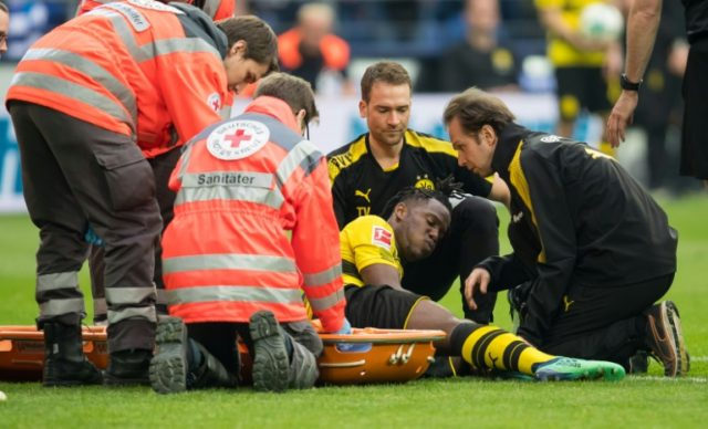 Michy Batshuayi has been a hit since joining Dortmund but injury could scupper his World Cup hopes