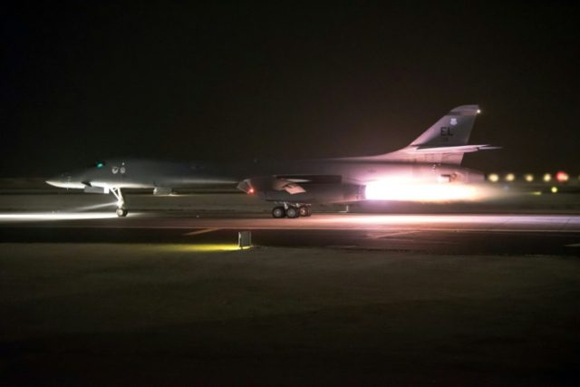 The US led Britain and France in strikes against alleged chemical weapons facilities in Syria, sparking condemnation from Russia and warnings of 'chaos' in international relations