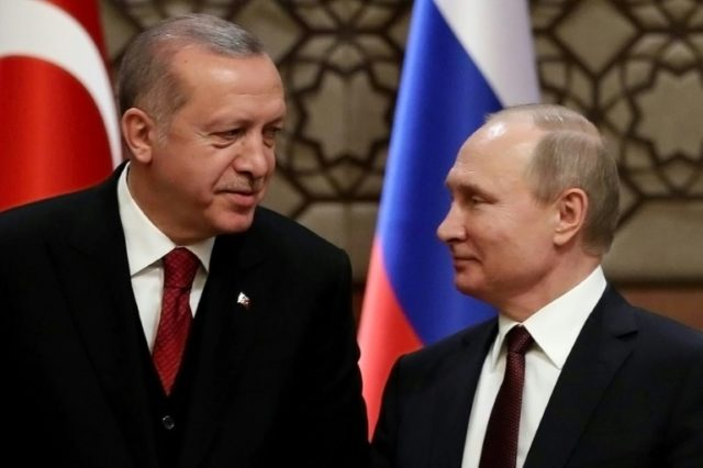 """We have strong relations with Russia but our relations with Russia are not an alternative to NATO relations or our allies,"" the Turkish foreign minister said"
