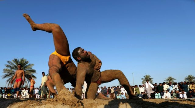 For Pakistani dockworkers in Dubai, kushti is a way of life