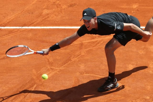 Austrian Dominic Thiem saved a match point in his three-set victory over Andrey Rublev in Monte Carlo