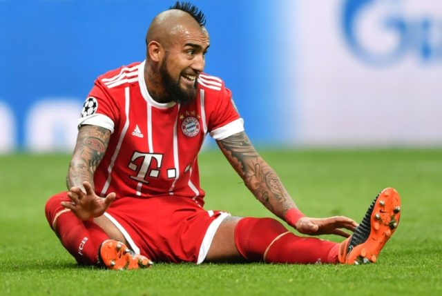 Arturo Vidal will undergo minor knee surgery and is set to miss Bayern Munich's Champions League semi-final against Real Madrid