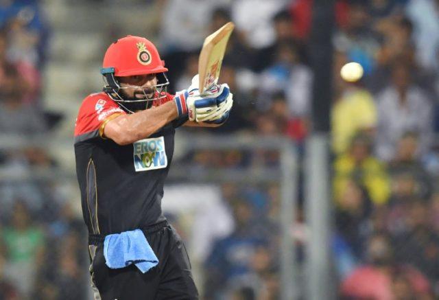 Royal Challengers Bangalore captain Virat Kohli's innings took his IPL total to 4,619 runs in 153 matches, putting him ahead of Suresh Raina of Chennai Super Kings on 4,558
