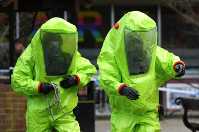 The cleaning work in Salisbury following a chemical attack on a former double agent is expected to take months