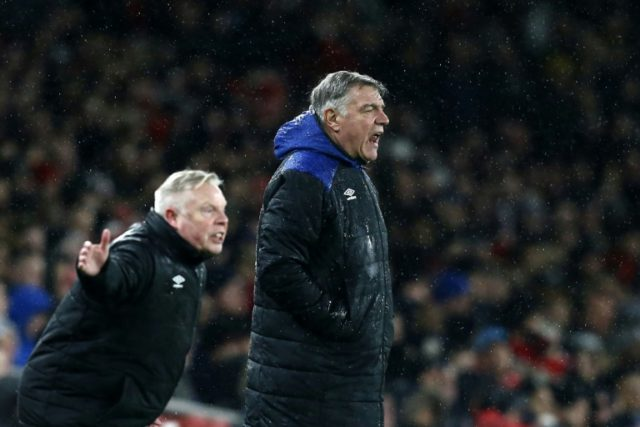 Everton fans asked to rate manager Sam Allardyce