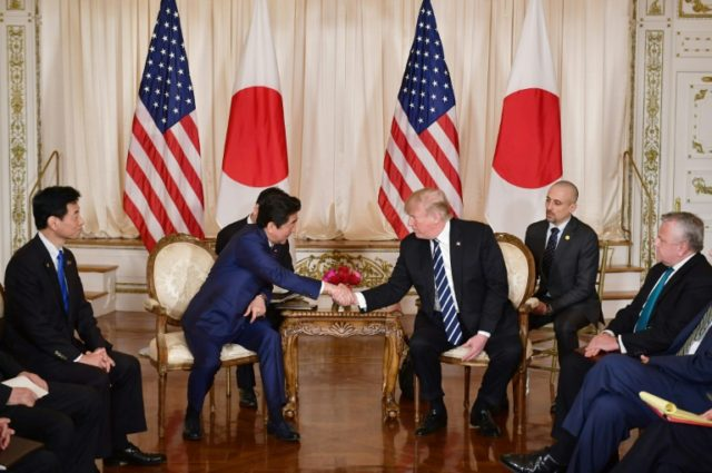 Japan and US are aiming to thrash out some trade differences