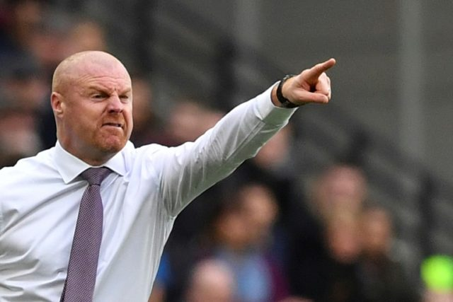 Aiming high: Burnley manager Sean Dyche