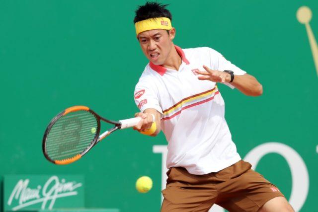 Japan's Kei Nishikori saw off Daniil Medvedev to reach round three