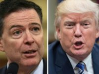 Trump denies firing Comey over Russia probe