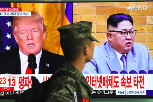 US President Donald Trump says that five locations are under consideration for his expected meeting with Kim Jong Un, the leader of nuclear-armed North Korea -- but he gave no clues as to what they might be