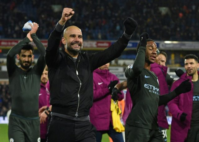 Guardiola has now won league titles as a coach in Spain, Germany and England.