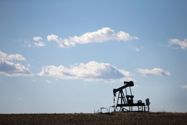 A drop in US stockpiles and hopes for a Russia-OPEC output cap deal have helped send oil prices soaring