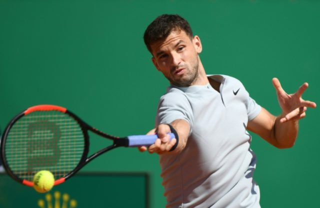 Grigor Dimitrov was too strong for a wasteful David Goffin in their Monte Carlo Masters quarter-final