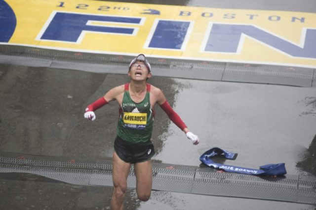 Yuki Kawauchi hopes turning pro will enable him to beat his PB