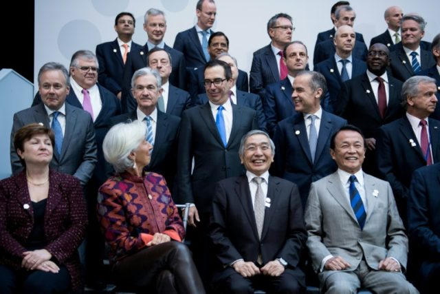 IMF Managing Director Christine Lagarde warned about rising protectionism, while US Treasury Secretary Steven Mnuchin blames countries with unfair trade policies