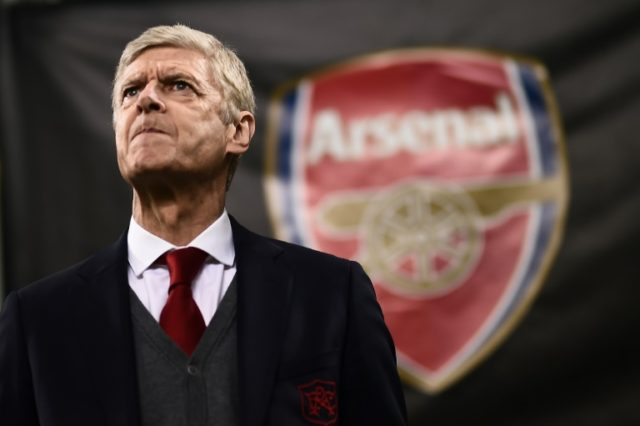 Wenger announced his decision to step down at the end of the season after increasing pressure from fans