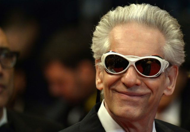 Canadian director David Cronenberg who won a Venice Film Festival lifetime Lion D'Or prize for his sometimes stomach-churning work on the eternal themes of life, death and sex