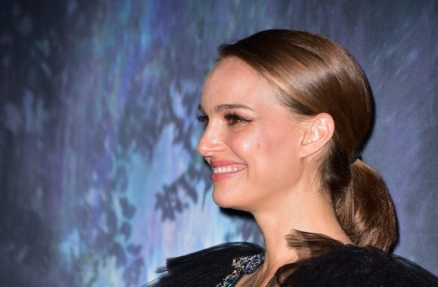"Actress Natalie Portman arrives for the premiere of ""Annihilation"" in Los Angeles on February 13, 2018"