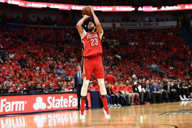 Anthony Davis delivered a franchise playoff-record 47 points as the New Orleans Pelicans beat Portland 131-123 to sweep the Trail Blazers from the playoffs