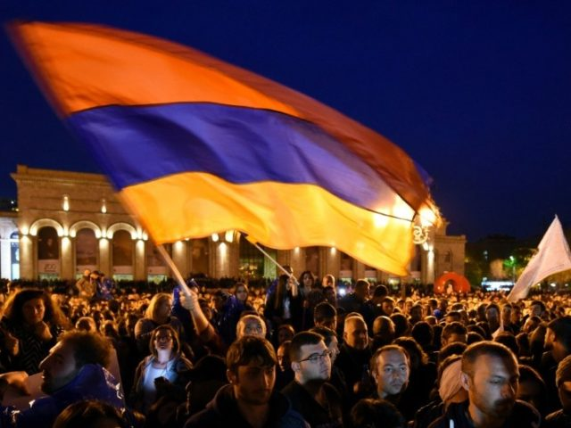 Armenian protest leader says only ready to discuss PM's 'departure'