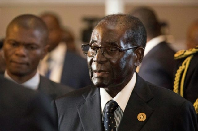 Mugabe ruled Zimbabwe from 1980 until his dramatic ouster last year