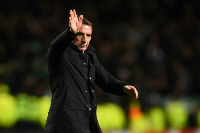 Rodgers's trophy-laden time at Celtic has seen him linked to Arsenal.