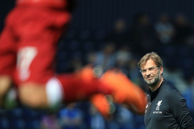 Liverpool manager Jurgen Klopp watched in frustration as his team drew at West Bromwich