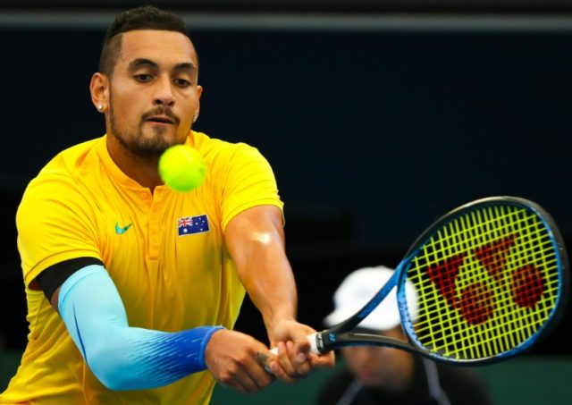 Sidelined: Nick Kyrgios will miss the Estoril and Madrid events