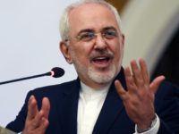 Iranian Foreign Minister Mohammad Javad Zarif at an appearance in Karachi in March