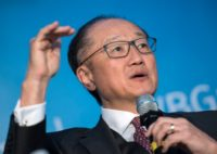 World Bank President Jim Yong Kim said increased lending capacity will help the institution address new challenges to poor countries, like climate change and refugees