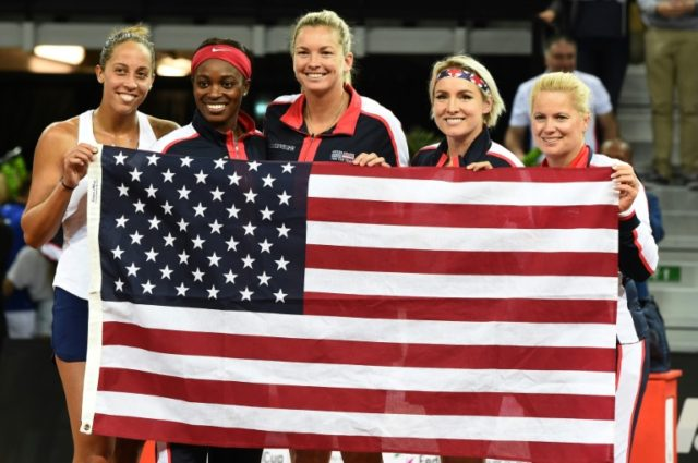 Defending Fed Cup champions the United States tamed France to book a final date with the Czech Republic