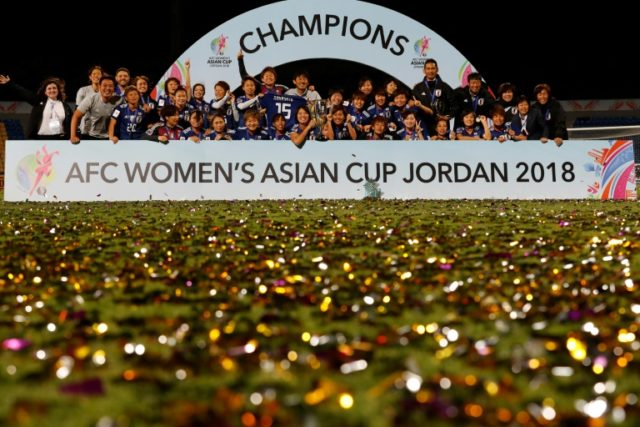 Japan's iron ladies show struggling male footballers the way