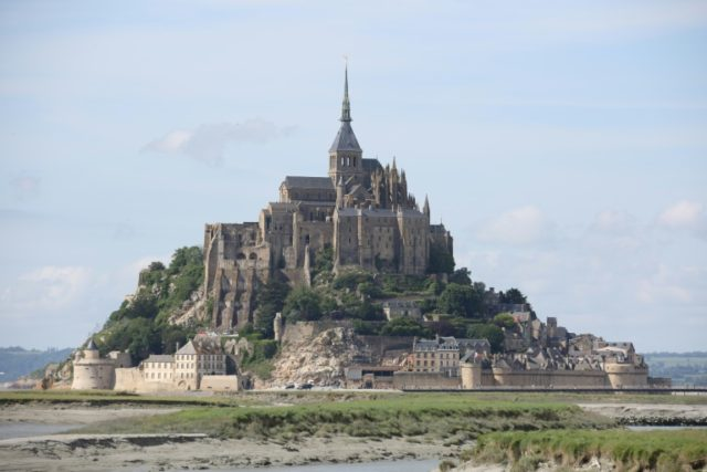 Mont Saint Michel off the Normandy coast is a UNESCO World Heritage site that draws more than a million visitors a year