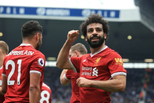 Liverpool's Egyptian midfielder Mohamed Salah matched a Prenuer League record for a single season with 31 goals and also netted the award for African Player of the Year for 2017