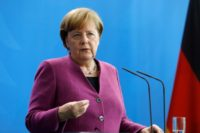 Angela Merkel Denounces New Anti-Semitism from Arab Refugees