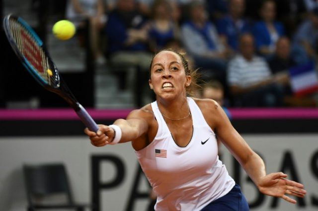 Madison Keys got the decisive point to send champions the US into the Fed Cup final