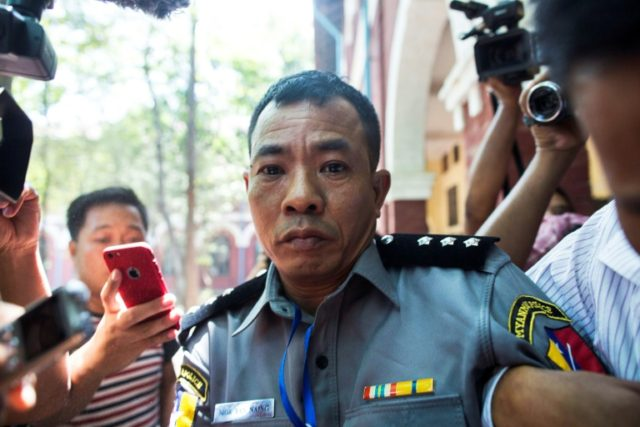 Family of whistleblowing Myanmar cop evicted after testimony