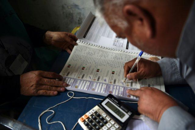 Afghanistan on April 14 began registering voters for long-delayed legislative elections scheduled for October