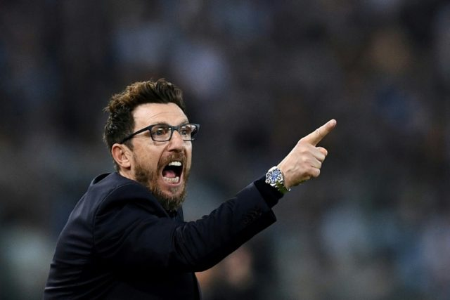 Roma's head coach Eusebio Di Francesco has a reputation as an astute tactician with a talent for attractive attacking football
