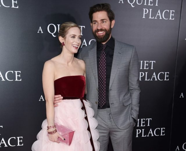 """A Quiet Place,"" starring actor/director John Krasinski and real-life wife Emily Blunt, has made significant noise at the box office"